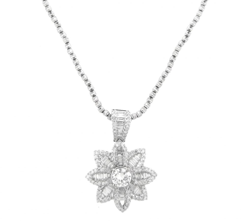 with and usa diamonds pendant exchange baguette round flower diamond facebook product