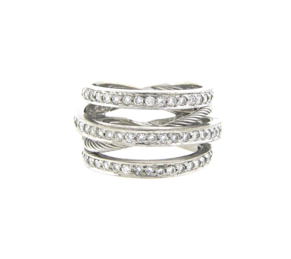 Philippe Charriol X Wide Crossover Band - Diamond Exchange USA