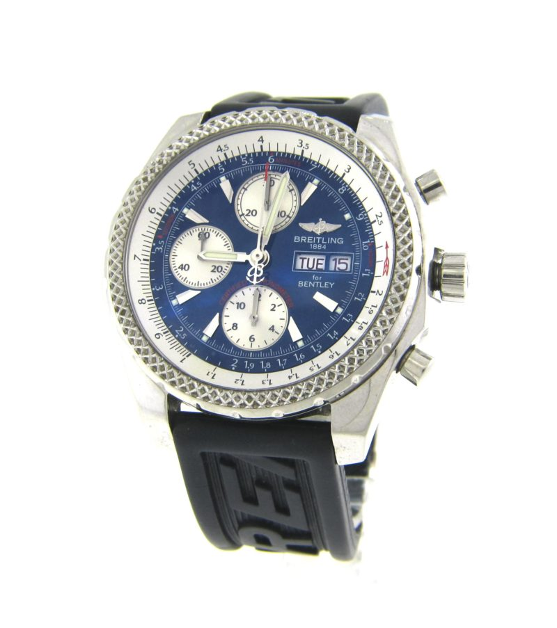 Breitling Bentley On Rubber Band A13362