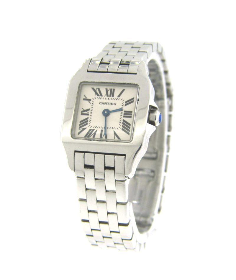 lowest price 49783 2b3b7 Cartier Ladies Santos Demoiselle W25064Z5