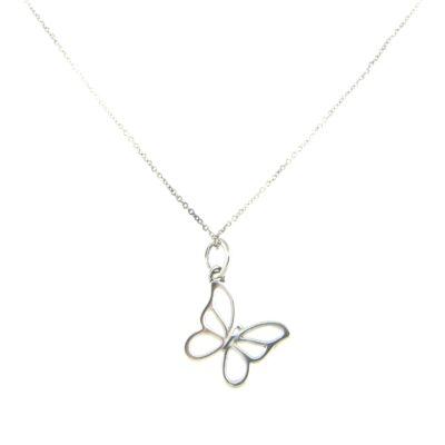 efaadd1b0 Tiffany & Co. Tiffany Nature Butterfly Pendant - Diamond Exchange USA