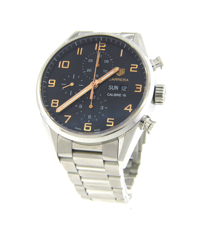 Tag Carrera Watch >> Tag Heuer Carrera Chronograph Watch Cv2a1ab