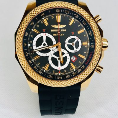 Breitling Bentley Watch >> Breitling Bentley Barnato 18k Rose Gold Limited Edition Chronograph